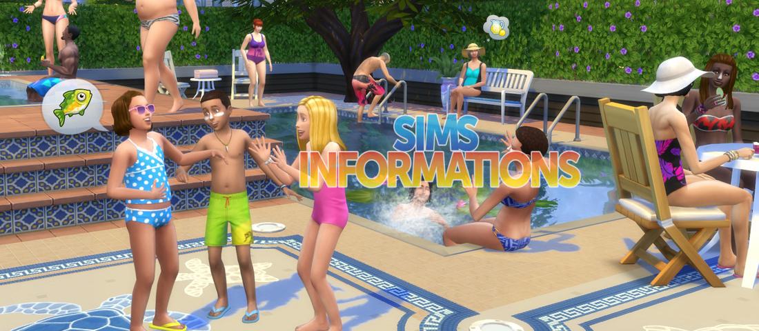 Le piscine di the sims 4 pi che comuni vasche piene d for Sims 4 piscine a debordement